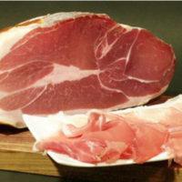 Seasoned ham maiale nero ciociaro